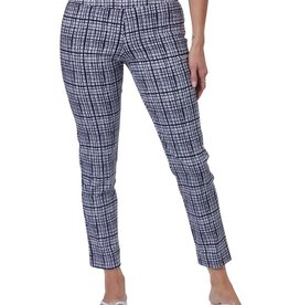 Krazy Larry Pant Krazy Larry's Navy Bars Pull on Pant