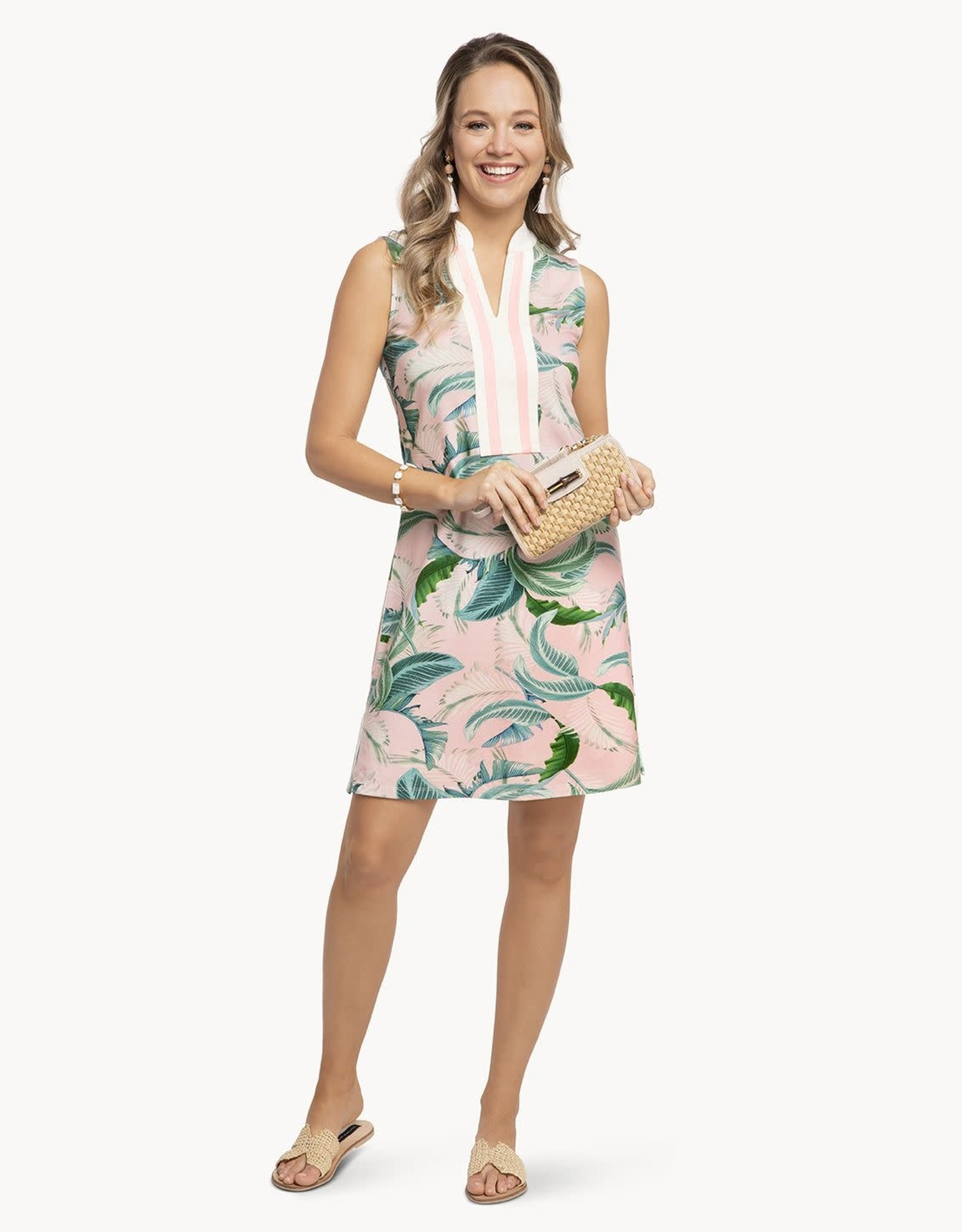 Spartina Cabana Leaf Tunic Dress