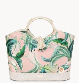 Spartina Retreat Beach Bucket Cabana Leaf Bag