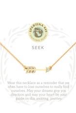 Spartina Spartina SLV Seek Necklace