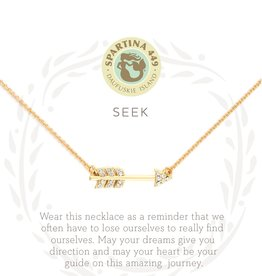 Spartina Spartina SLV Seek Necklace