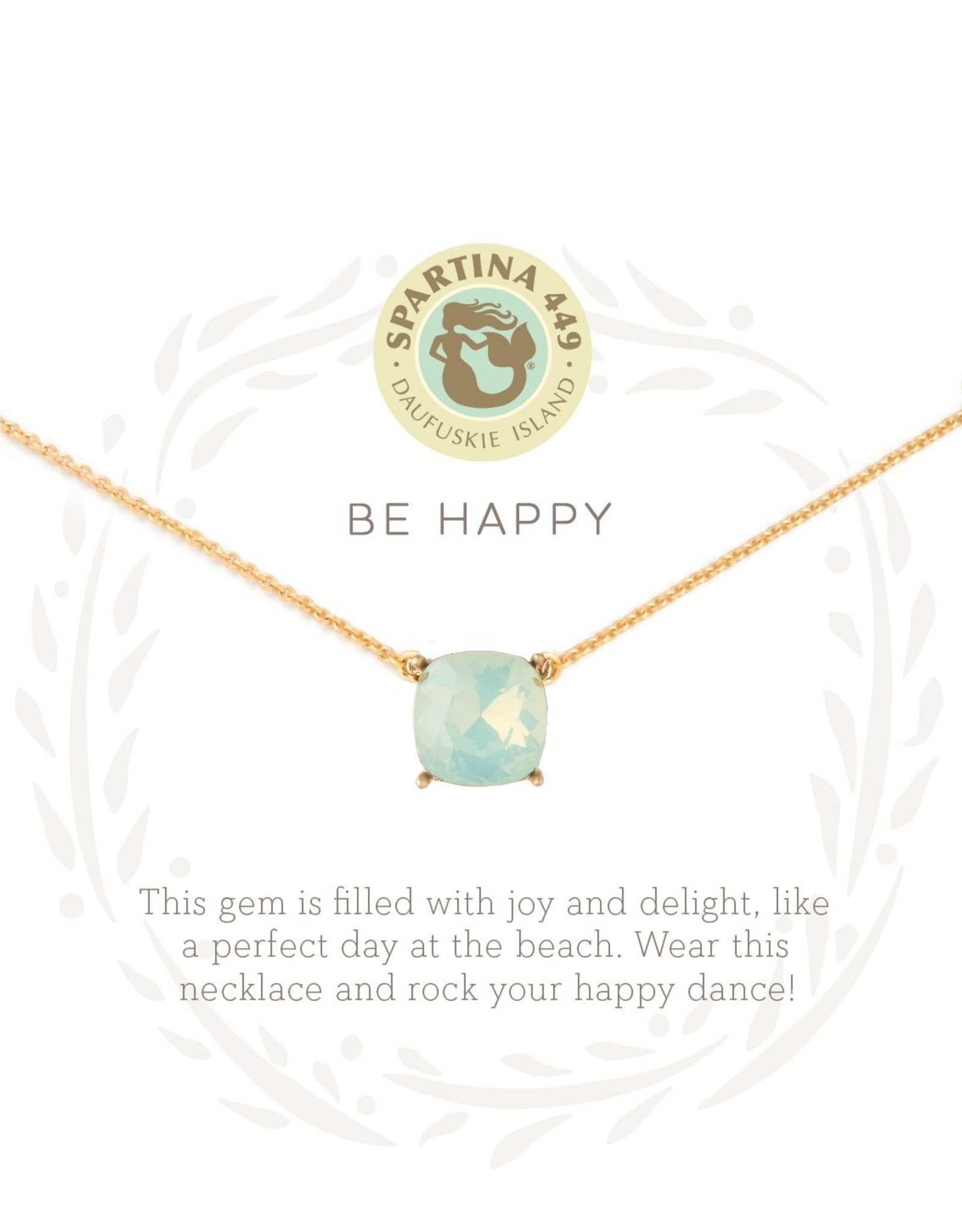 Spartina Spartina SLV Happy Necklace
