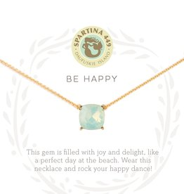 Spartina Spartina SLV Happy Necklace