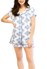 Jaye's Studio Sea Life Ruffled Pajama Summer Set