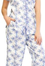 Jaye's Studio Sea Life Capri Pajama Set
