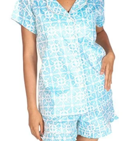 Jaye's Studio Garden Gate Ruffled Summer Pajama Set