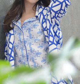 Don't Fret Blue Extra Soft Robe sz XL