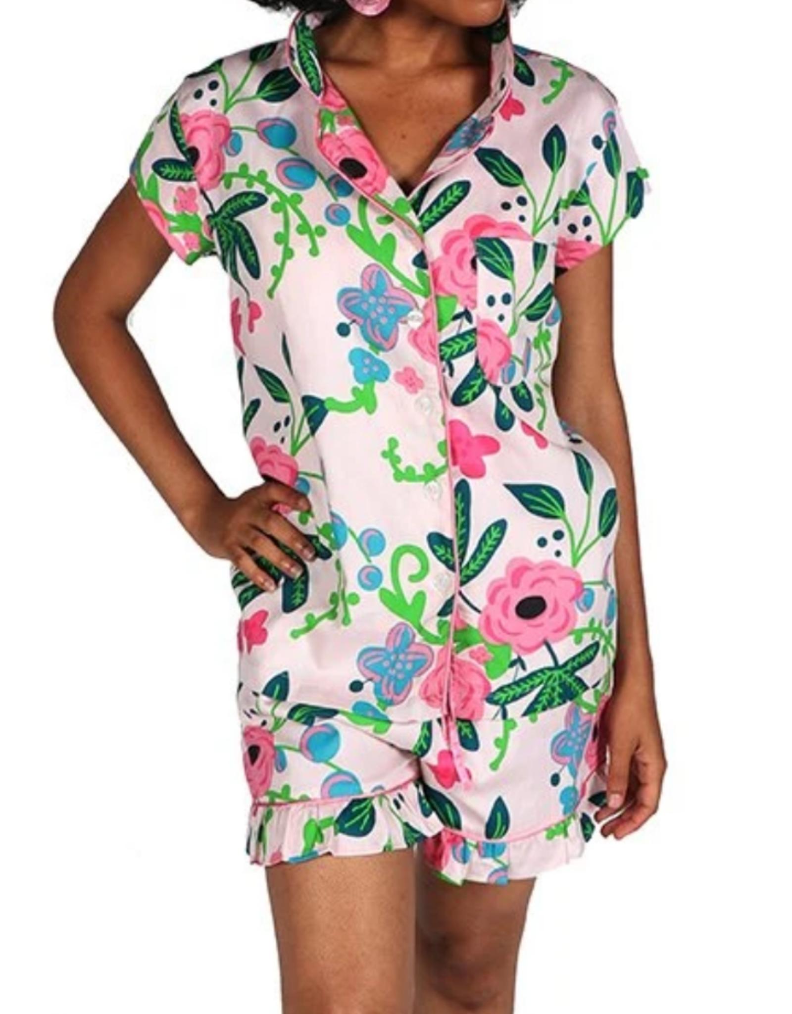 Jaye's Studio Botanica Ruffled Pajama Summer Set