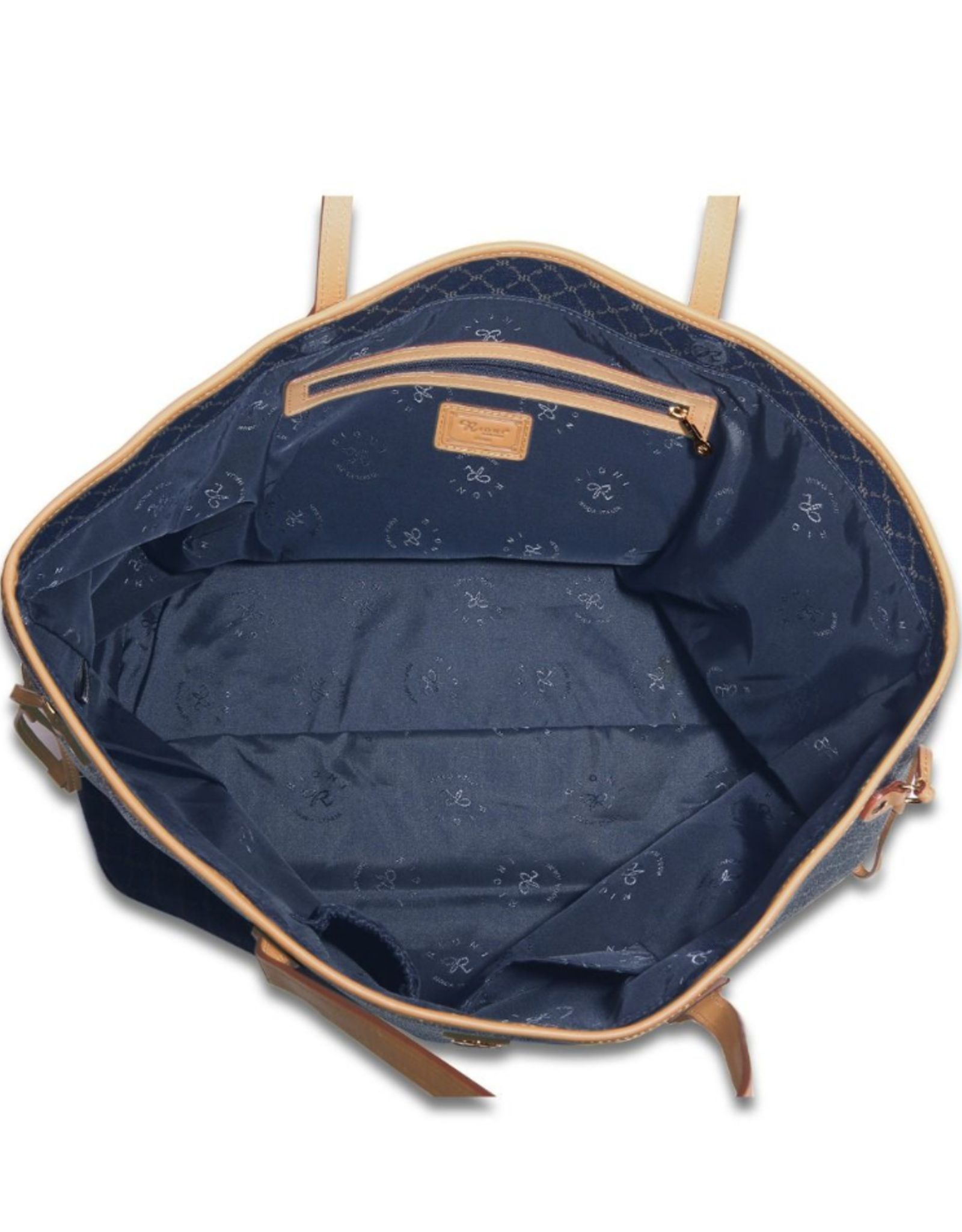 Rioni Navy Rioni Luxury Tote Large
