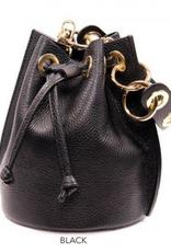 Genuine Leather Bucket Bag