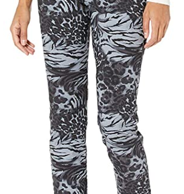 Krazy Larry Pant KL Black Tiger Pull on Pant