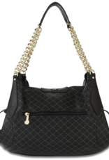 Rioni Rioni Black Buckle Carrier Purse