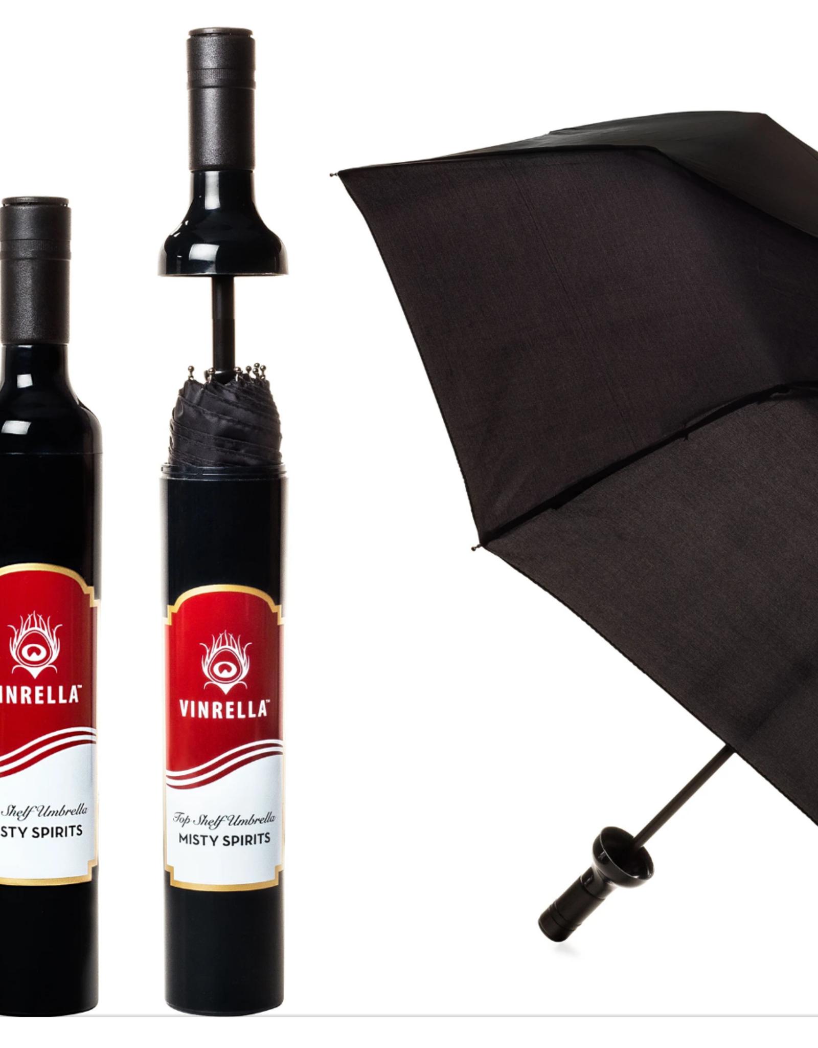 Vinrella Wine Bottle Misty Spirits Umbrella