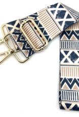 CTHRUPURSES The Max Strap Canvas Ribbon Gold Buckle Strap