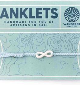 Wanderer Bracelets Infinity Anklet - ICE