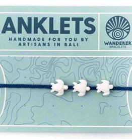 Wanderer Bracelets Baby Sea Turtles Anklet