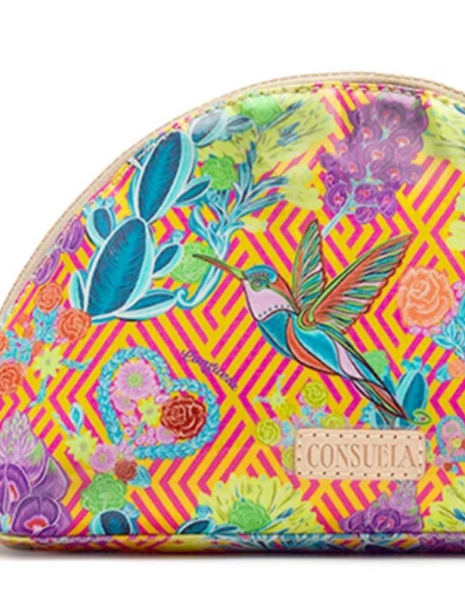 Consuela Busy Large Cosmetic Case