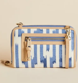 Spartina Multi Phone Crossbody Oyster Alley