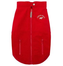 CANADA POOCH Size 10 - Red Rocky Ridge Back Zip