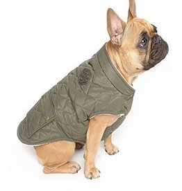 CANADA POOCH Size 18-Army Green -Cityscape Coat