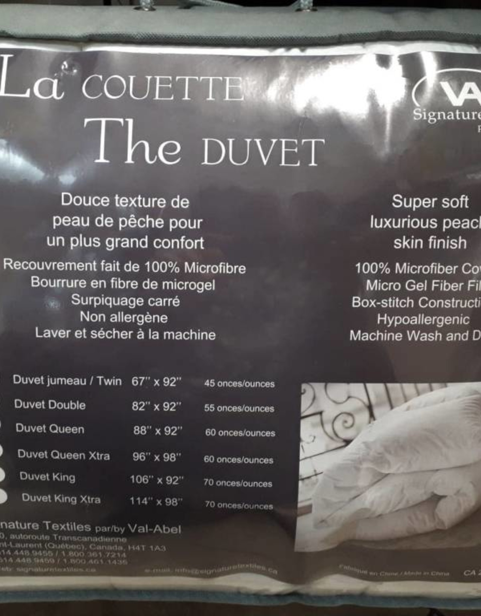 Signature Textiles Couette ''The Duvet''