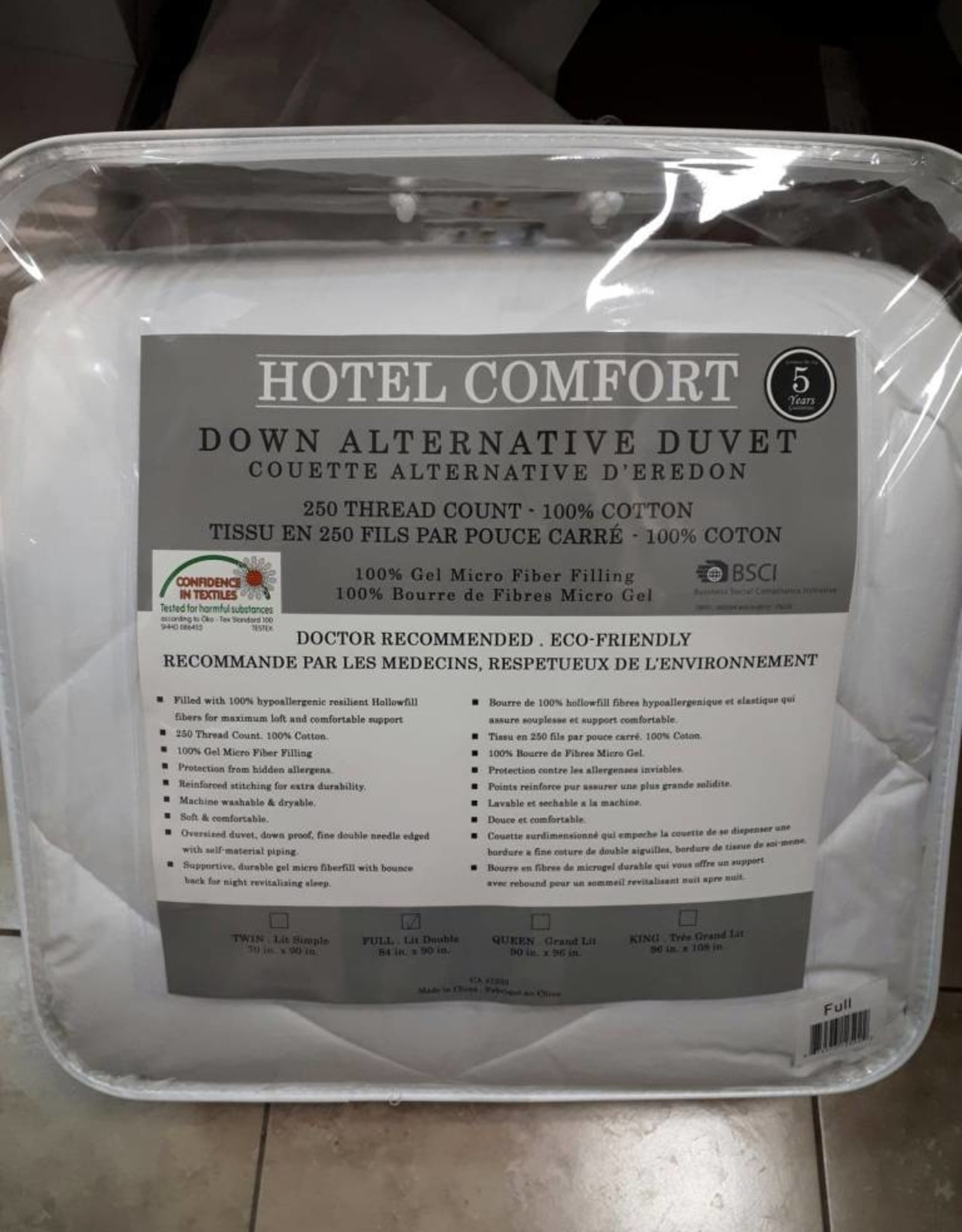 Cotton House Couette ''Hotel Comfort''