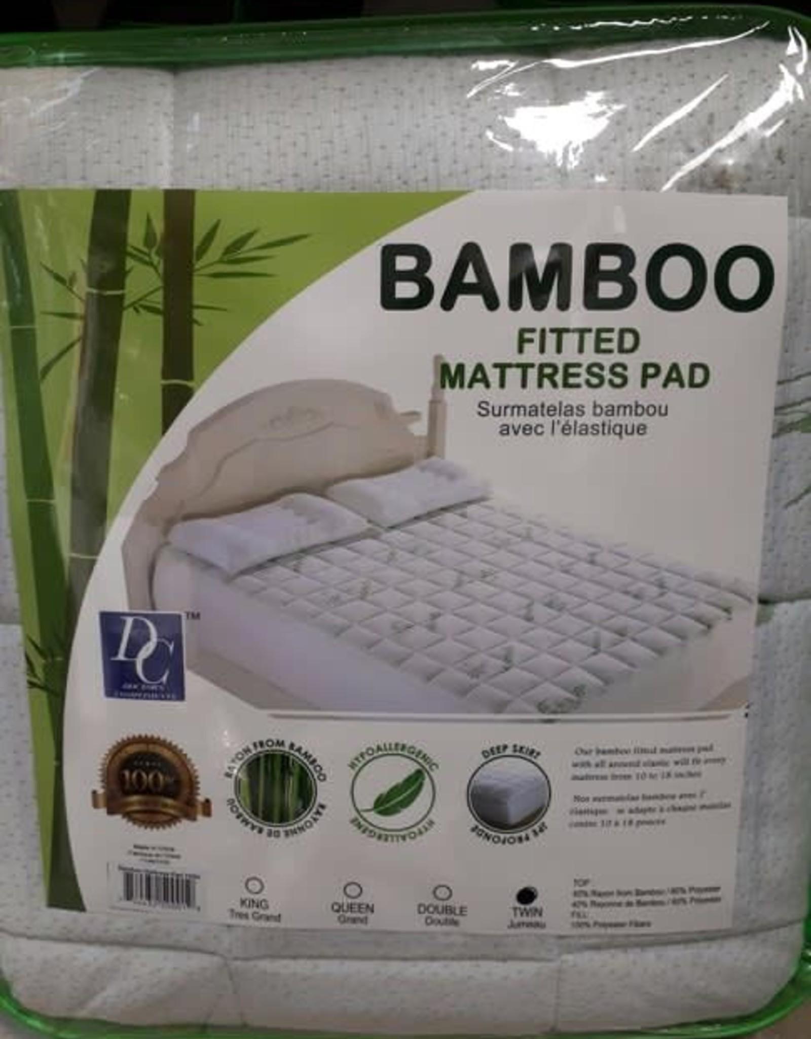 Home Aesthetics Protection de Matelas en Bambou