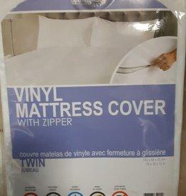 Home Aesthetics Protection de Matelas en Vinyle avec Fermeture Éclair