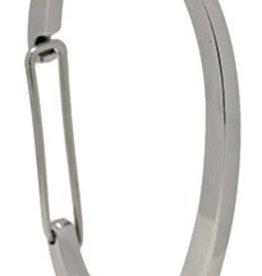 Moda Spring Zinc C Shape Hooks 12 PCS Chrome