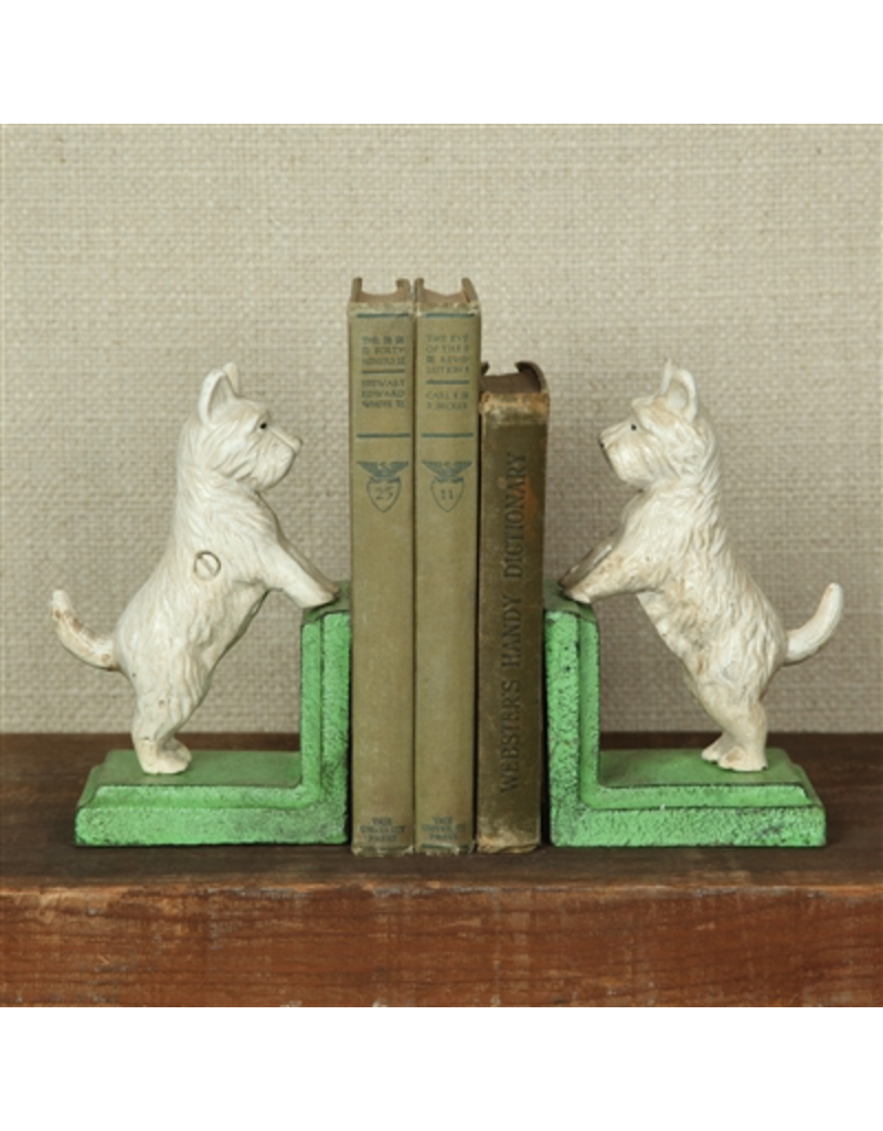 Bookends Westies Cast Iron Bookends