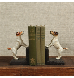 Bookends Cast Iron Jack Russell Bookends
