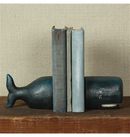Accessories Whale Bookends