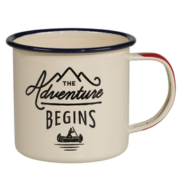 Mugs Adventure Begins Enamel Mug