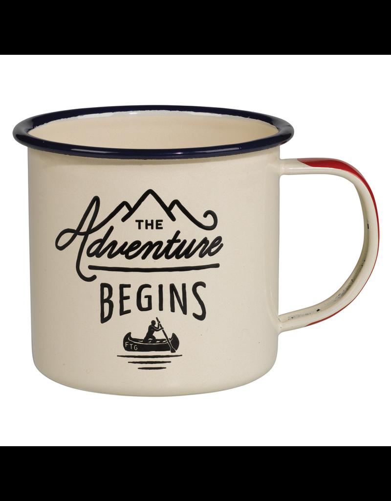 Mugs Adventure Begins Enamel Mug