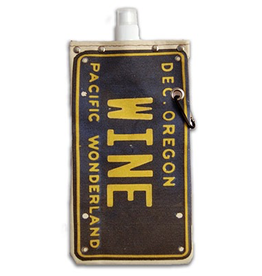 Flasks OR Wine License Plate 750ml Canteen
