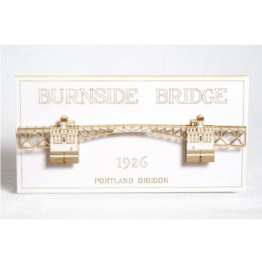 Wall Decor Burnside Bridge 3D Card