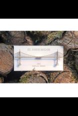 Wall Decor St. Johns Bridge 3D Card