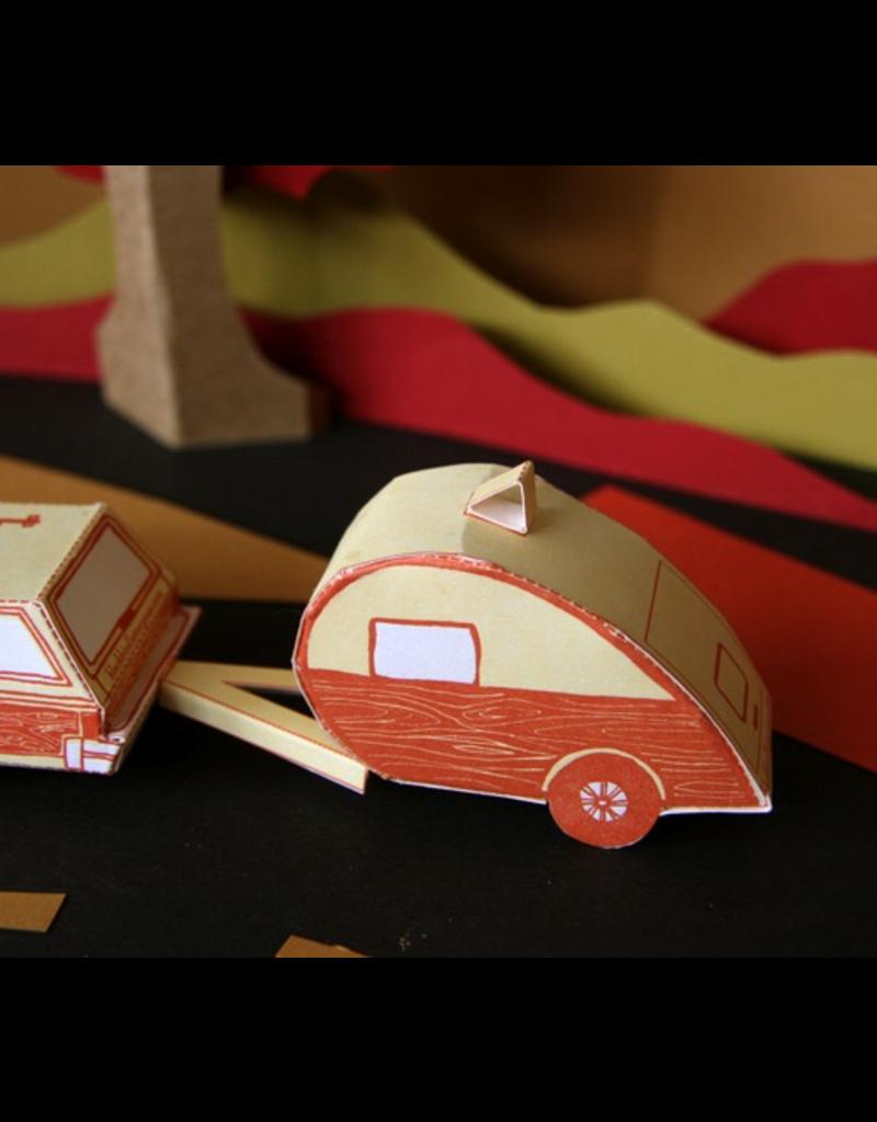 Greeting Cards Little Camper 3D Card