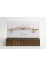 Wall Decor Fremont Bridge 3D Card