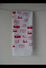 Tea Towels Red Campers Tea Towel