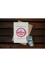 Greeting Cards Mom Club Patch Card