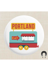 Magnets Portland Food Cart Magnet
