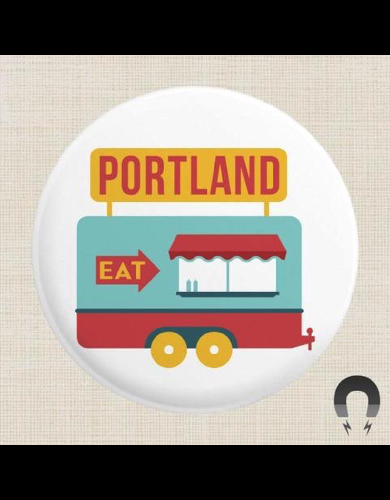 Magnets Portland Food Cart Magnet