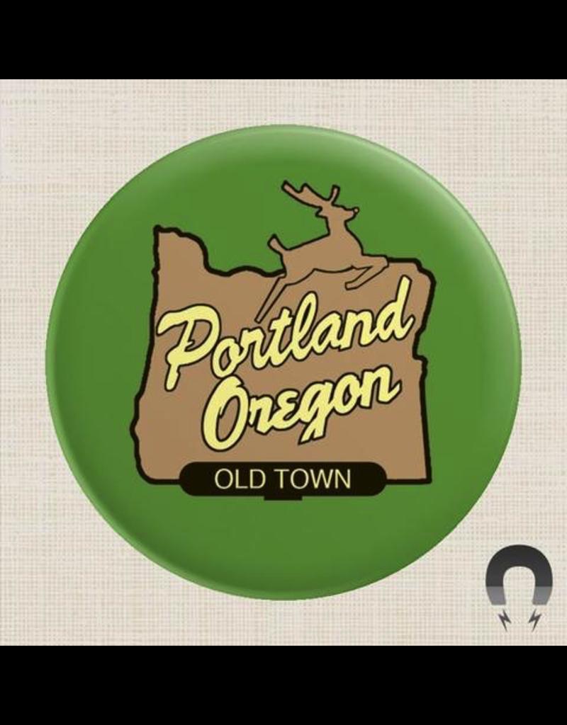 Magnets Portland Oregon Old Town Magnet