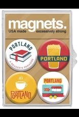 Magnets Portland Culture Magnet Set