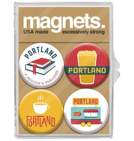 Magnets Portland Culture Magnet Set