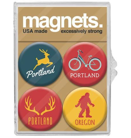 Magnets Portland Icon Magnet Set