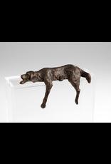 Sculptures Lazy Dog Shelf Sculpture