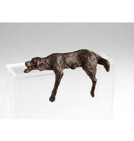 Sculptures Lazy Dog Shelf Sculpture