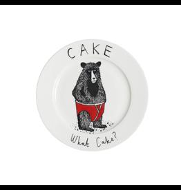 Dinnerware Cake, What Cake? Bear Plate